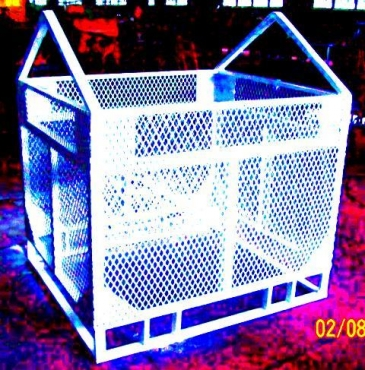 BRICK CAGE - FOR CRANE AND FORKLIFT / TELEHANDLER LIFTING
