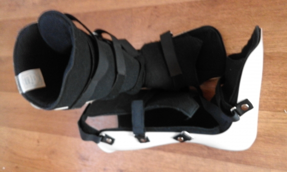 Pair of Ortho boots.