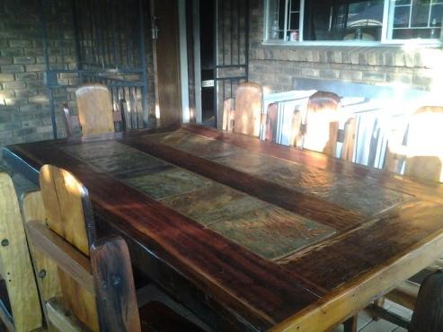 8 Seater Sleeper Dining Room Patio Set Diningroom Furniture
