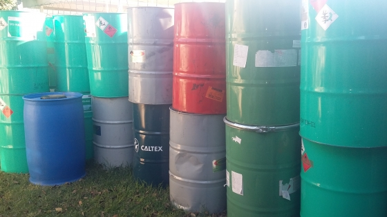 Steel Drums 210L from R100