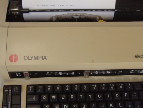 Olympia  Electronic Typewriter - in excellent working condition