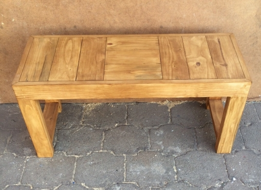 Patio bench Farmhouse series 1000 Stained