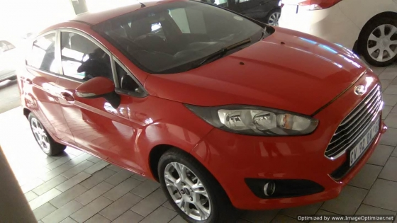 Ford Fiesta Trend 1.6 Engine 2013 Model, 5Doors, Factory A/C, C/D Player, Central Locking.