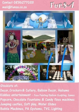 Spread the joy! Kids party hire and entertainment