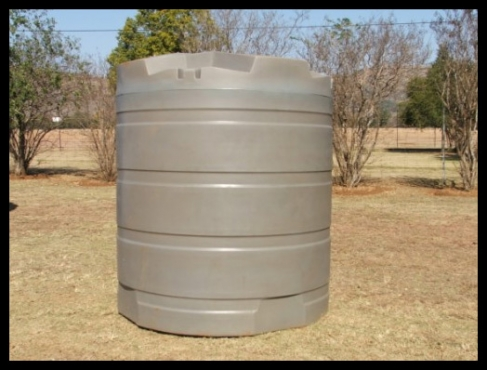 Water storage tanks- with free delivery anywhere in KZN