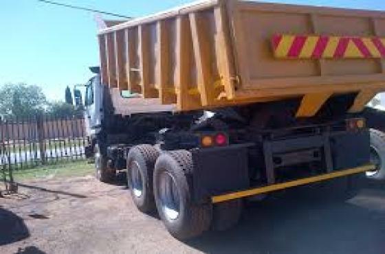 2007 FAW 28/280 10 meter tipper trucks for sale