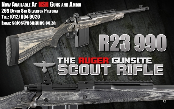 Ruger Gunsite Scoute 308rem rifle