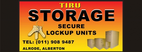 Self Storage in Alberton from R350