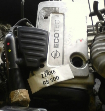 Low Mileage Imported Engine. Opel 1.4 16 Valve ECOTEC