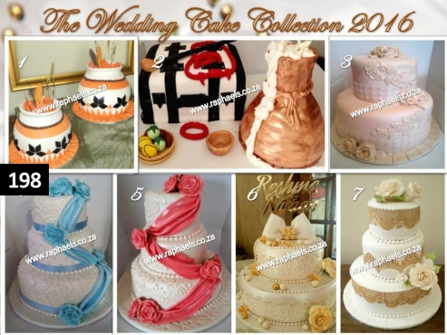 Real Wedding Cakes, raphaels.co.za