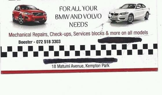 bmw and volvo mobile mechanics and diagnostics