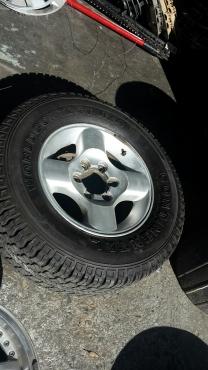 Nissan Hardbody LDV 4 Spoke Mag 6 Hole