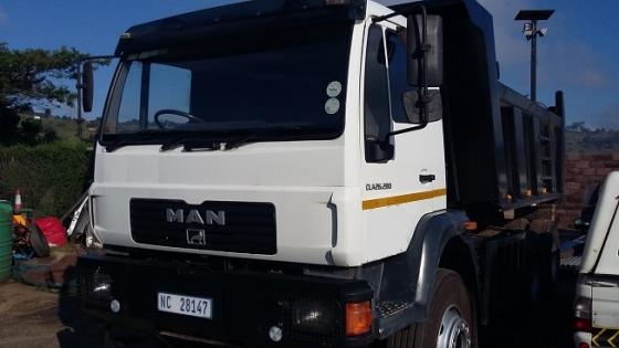 MAN CLA26.280 Tipper Truck