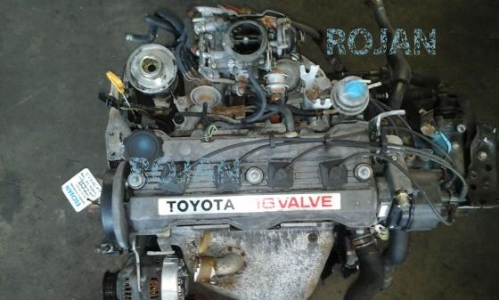 Toyota 4a carburetor 1 6 16v engine for sale junk mail for 2 4 motor for sale