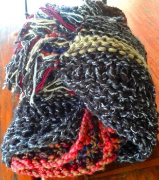Grandpa's Nitty Gritty Throw/Knee Blanket! Handmade with love!