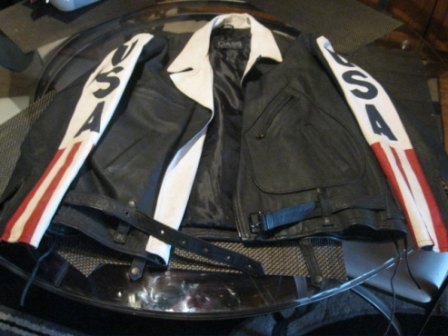 Leather Jacket (Size XXL)