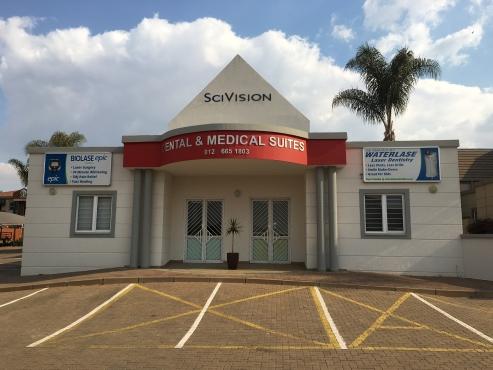MEDICAL SUITES/DOCTORS ROOMS TO LET IN HIGHVELD, CENTURION
