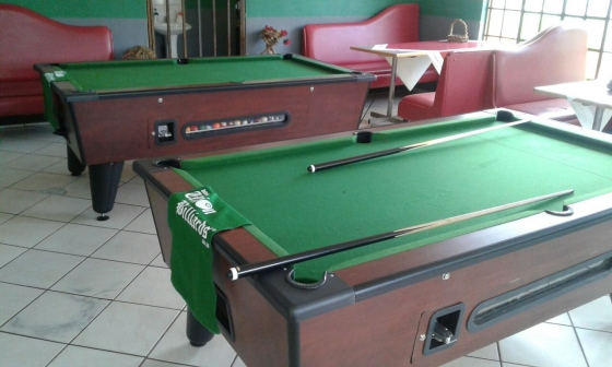New Elite Coin Operated Pool Tables