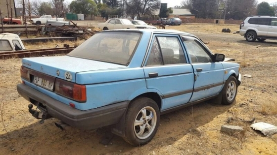 Nissan Sentra Box Shape