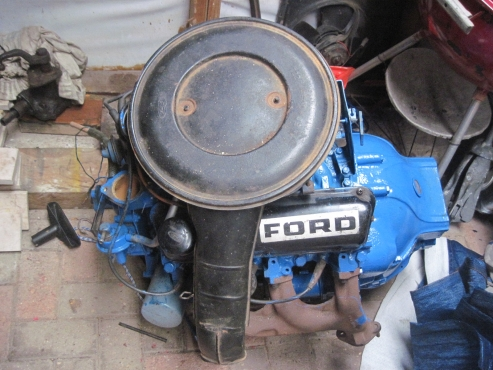 Ford Cortina Engine 3 6 Litre V6 Converted To Suit Willys Cj2 6 Jeep Junk Mail