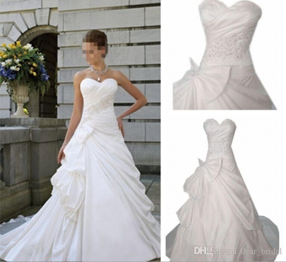 White wedding dress for rent | Junk Mail