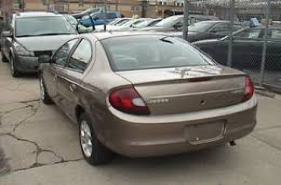 Complete Chrysler neon gold in colour stripping for spares   for sale  complete engine, complete man