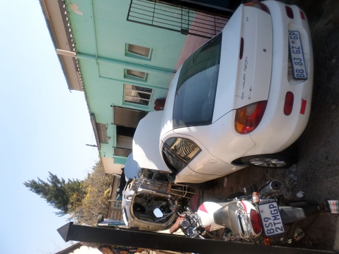 Complete Chrysler neon white  in colour stripping for spares   for sale  complete engine, complete m