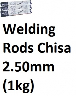 Welding Rods Chisa 2.50mm (1kg)