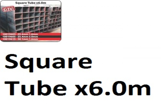 Square Tube x6.0m