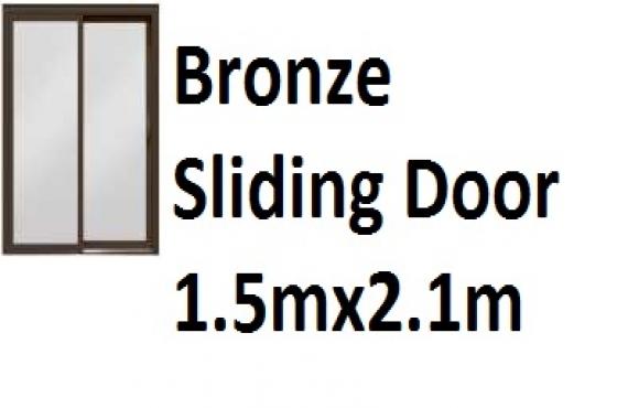 Bronze Sliding Door