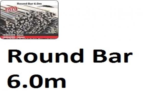 Round Bar 6.0m