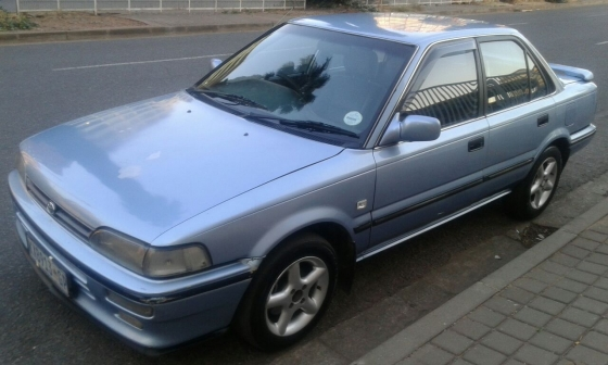 clean light blue 1995 toyota corolla 180i for sale junk mail. Black Bedroom Furniture Sets. Home Design Ideas