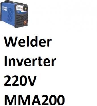 Welder Inverter  220V MMA200