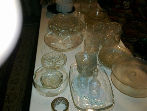 Glass Bowls, Pyrex, Etc