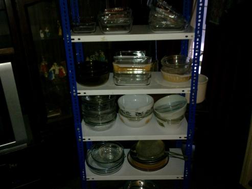 Glass Bowls, Pyrex, Etc