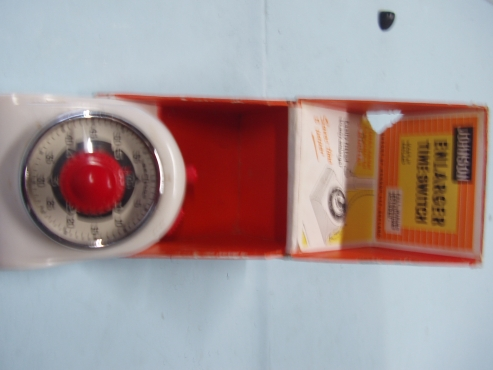 JOHNSON ENLARGER TIME SWITCH MADE IN ENGLAND
