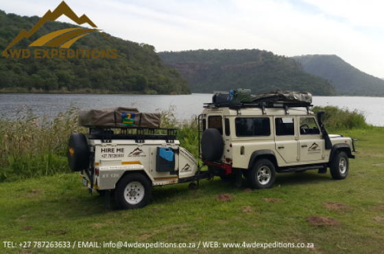 Hire A Fully Equipped Camping Trailer From R450 p/d - Jurgens XT140