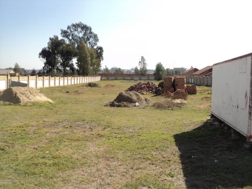 Land for development 10 Townhouses