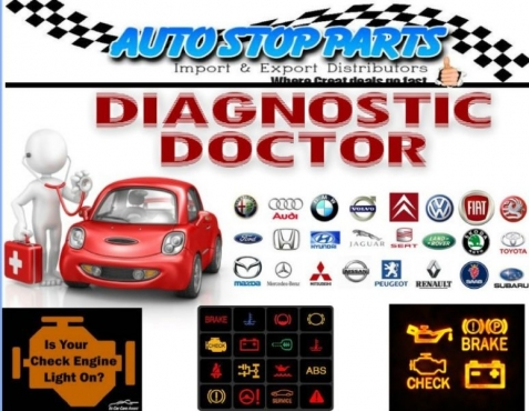 FIND OUT THE PROBLEM WITH YOUR CAR BY DOING A DIAGNOSTIC TEST WITH US THE CAR DOCTORS CALL US NOW