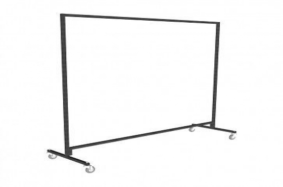 New Industrial Clothing Rails (delivery offered)