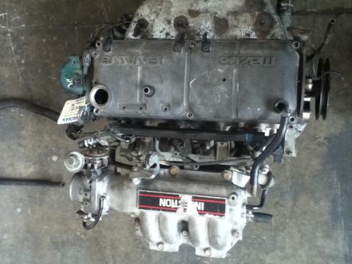 Mazda B6 Engine