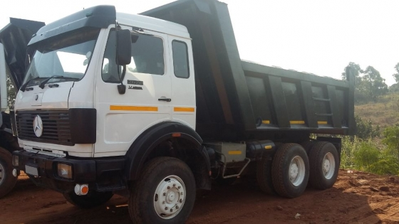 Mercedes Benz 2628 V Series 10 Cube Tipper Truck