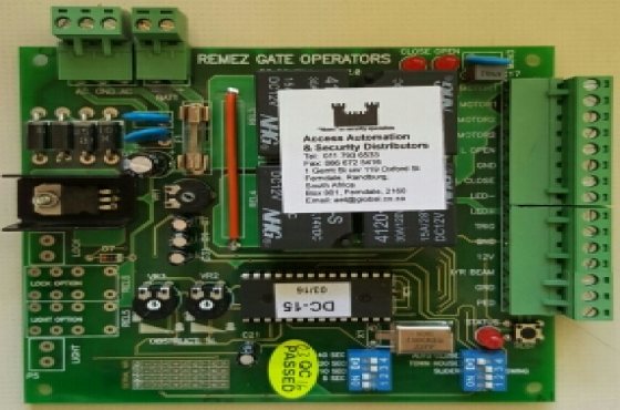 Remez gate motor control boards