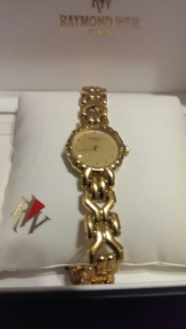 Raymond Weil Geneve Limited Edition Ladies' Gold Watch