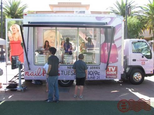 Mobile Nail Salon Tuk Tuk vehicle
