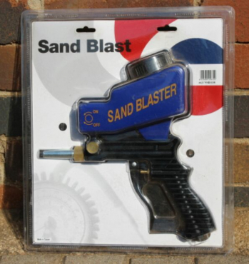 Sand Blasting gun | Junk Mail