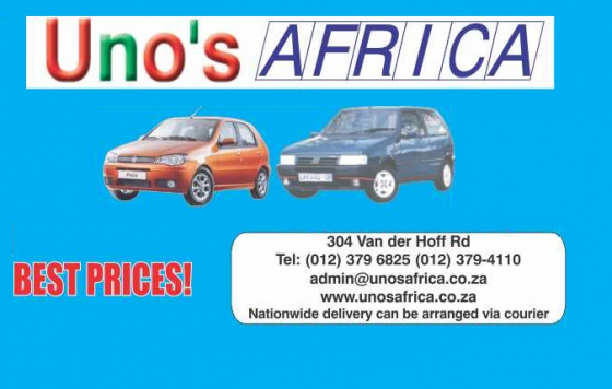 Uno's Africa , For all your new and used Fait & Volvo spares
