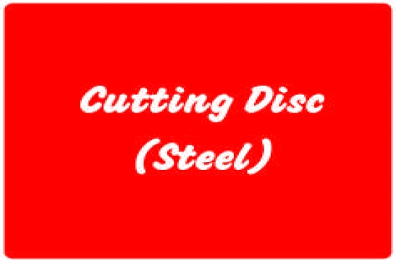 Cutting Disc (Steel)