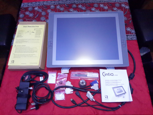 Wacom Cintiq 21UX Pen Display