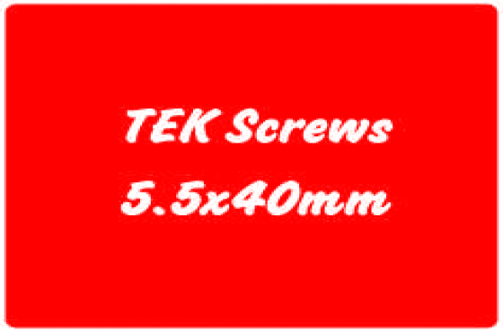 TEK Screws - At our